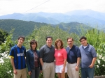 The entire Viviani clan on a trip to Italy in 2005.