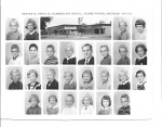 Ferry School - '60/'61  2nd Grade  Mrs. Culver/Gahagan    Row 1: Phil Bertelsen, Cheryl Pieschke, Tim Atkinson, (need