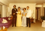 Senior Prom l-r, Larry Lumetta, Nancy LeRoy, Sue Neeb, Gary Hill