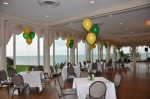 Beautiful Fries Ballroom at the Grosse Pointe War Memorial with view of Lake St. Clair (photo courtesy of Judy Barton Ma