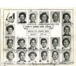 John R. Barnes Elementary School  Grosse Pointe Woods Michigan  Grade 1 1959-1960
